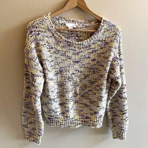 Ten Sixty Sherman cropped oversized sweater SIZE L